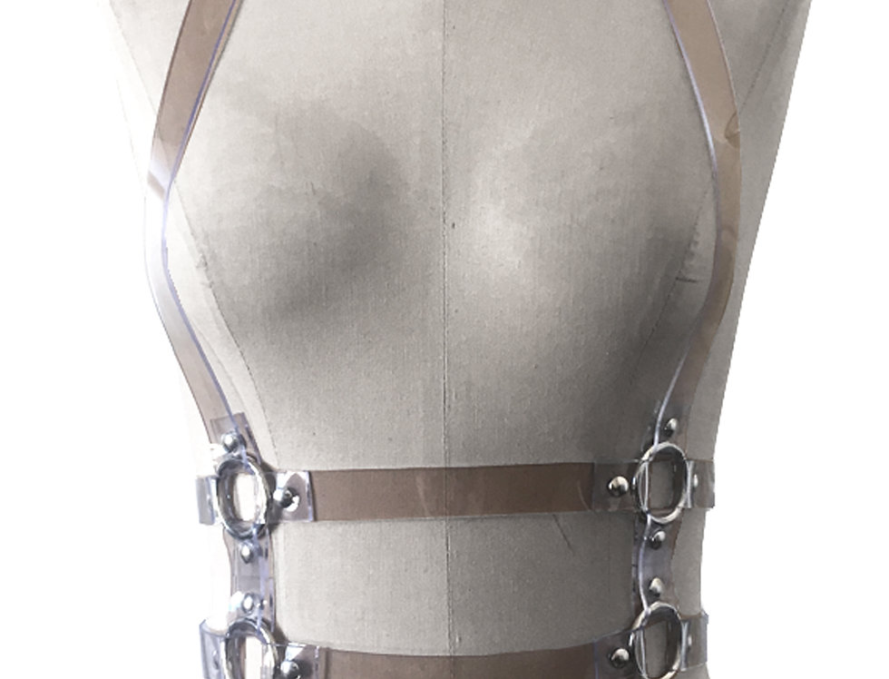 BELT  Harness - PVC Transparent