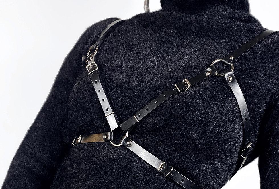COBRA Harness - Cuir Noir ou Burgundy