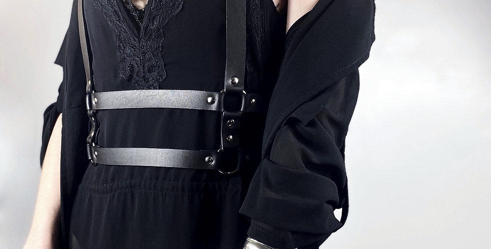 BELT  Harness - Cuir Noir ou Burgundy