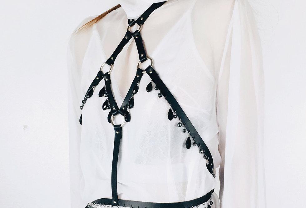 DUSK Harness - Cuir Noir