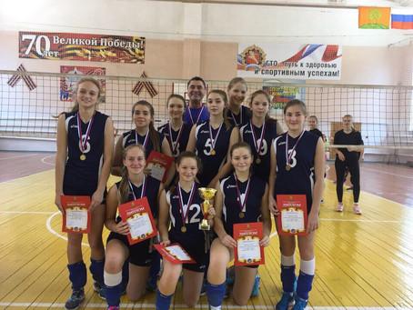 Первенство Липецкой области по волейболу среди девушек 2004 года рождения.