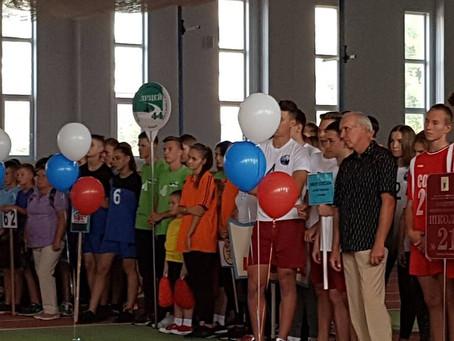 Открытие городской спартакиады учащихся города Липецка.