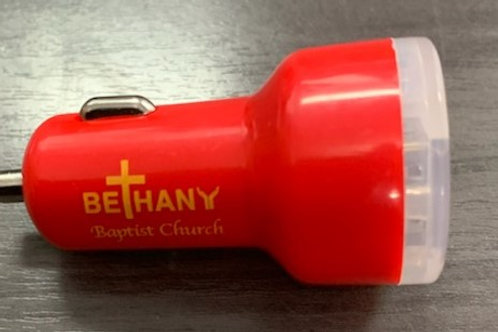 Bethany Dual Car Charger