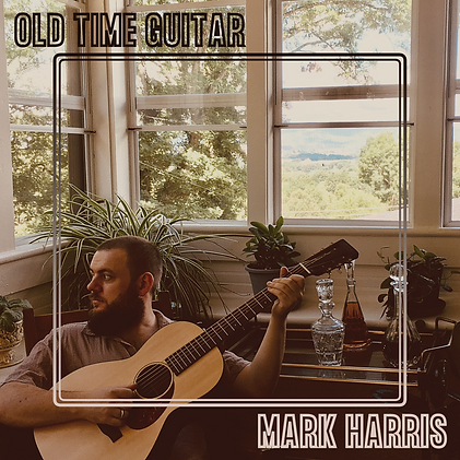 Mark Harris OLD TIME GUITAR Album Cover
