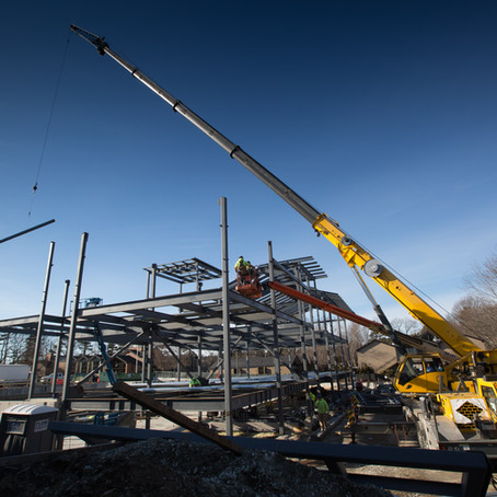 Photo Gallery: The Revers Center Construction Chronology