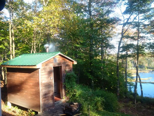 Sauna - Edge of Algonquin camp