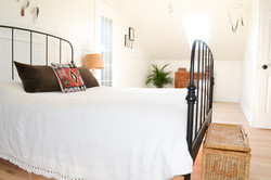 Bright, spacious master bedroom