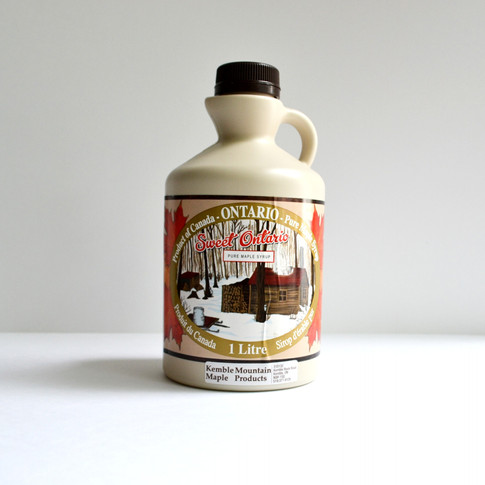 1 litre maple syrup