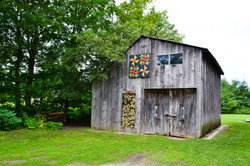 Workshop with barn quilt