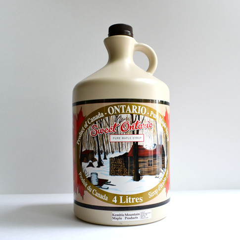 4 litre maple syrup