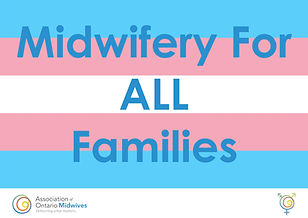 Intersex pride midwifery for all familie