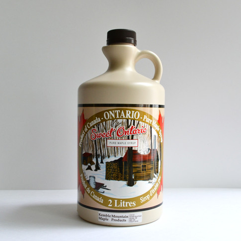2 litre maple syrup
