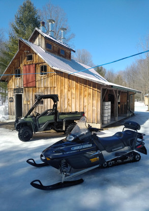 Machines required in the sugar bush