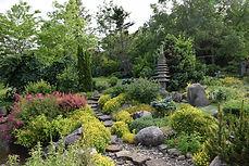 Rock Garden with Pagoda