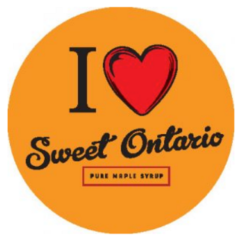 I love Sweet Ontario stickers