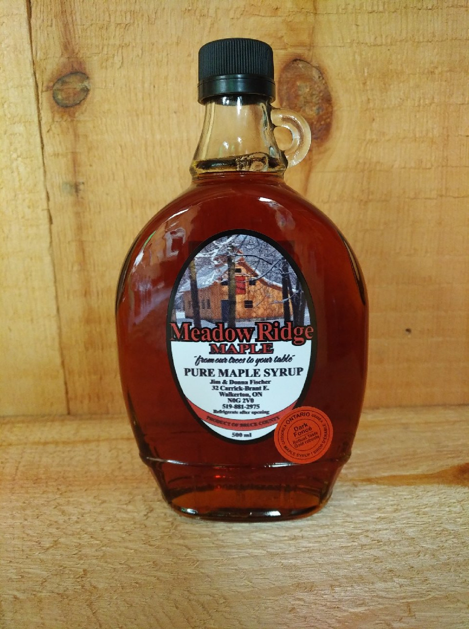 Traditional Glass 500 ml $12.00