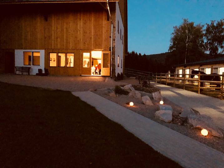 Tannenhof by Night