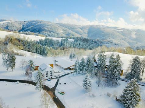 Der Tannenhof im Winter