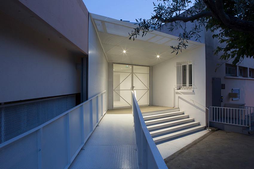 CGZ Architecture – Groupe scolaire Joseph Calloni – Bastia, Lupinu, octobre 2017