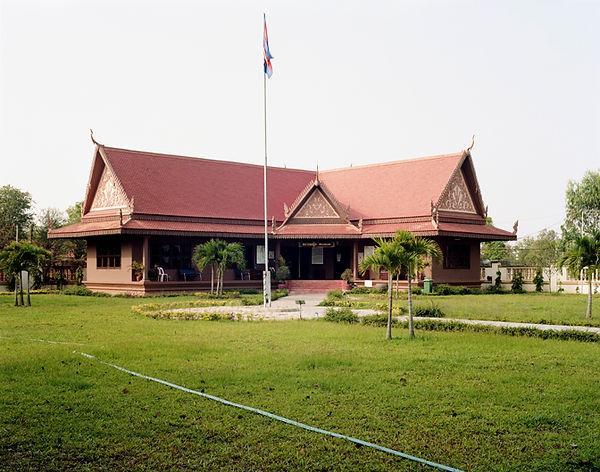 musee chœung ek cambodge batiment