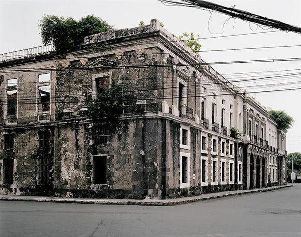 aduana manila philippines bâtiment ruines