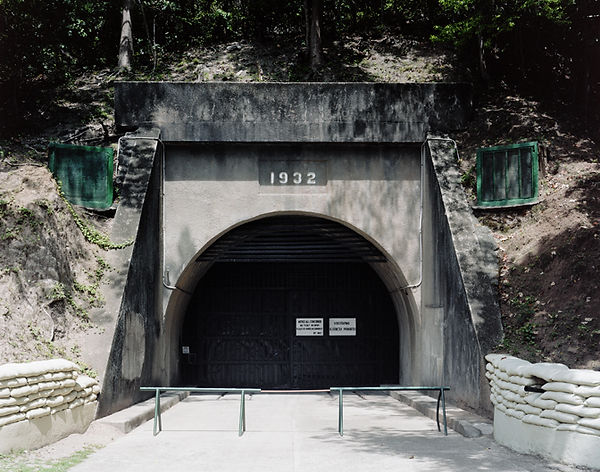 Sortie du Malinta Tunnel, après le spectacle vidéo corregidor island