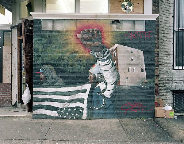 sorta wall sandtown baltimore USA