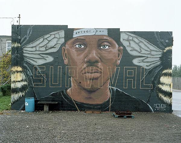survival nether wall sandtown baltimore USA