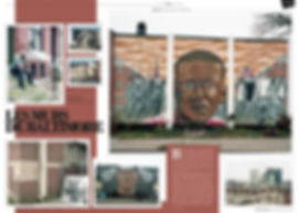 Murs baltimore, sandtown, Settimana, Freddie Gray