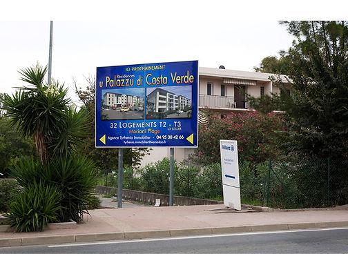 panneau vente immobiliere rn 198