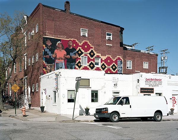 bat favitsou boulandi wall sandtown baltimore USA