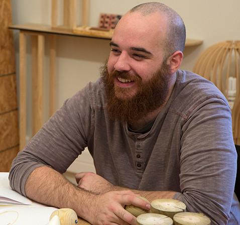 Damien Filippi, tourneur sur bois