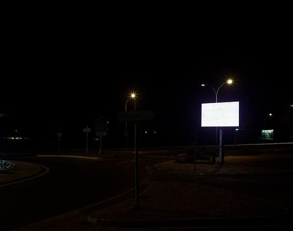 panneau lumineux nuit