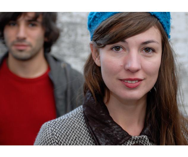Juliette Laurent et Nicolas Engel, comédienne et réalisateur – Bastia, novembre 2008