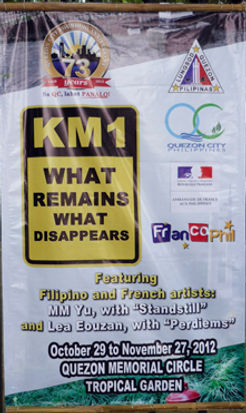 km1 what remains what disappears quezon city manila philippines