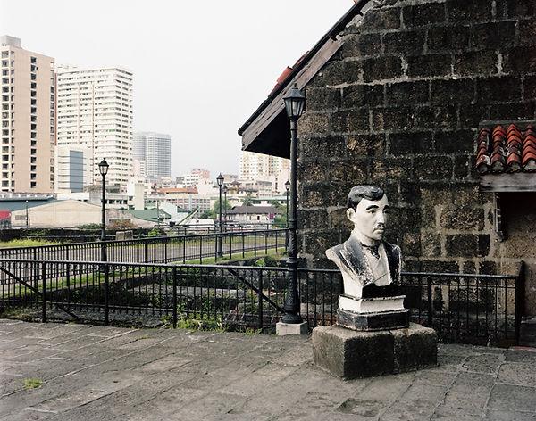 manila fort santiago buste statue jose rizal