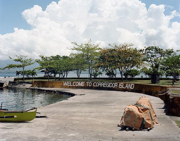 corregidor island manila bay philippines debarcadere