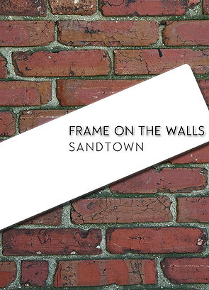 Frame on the walls, catalogue USA Baltimore, Freddie Gray