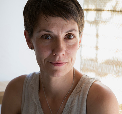 Sandrine Tricon, tisserande