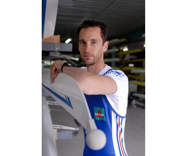 Fabien Tilliet, Équipe de France d'Aviron – Miribel, mai 2009