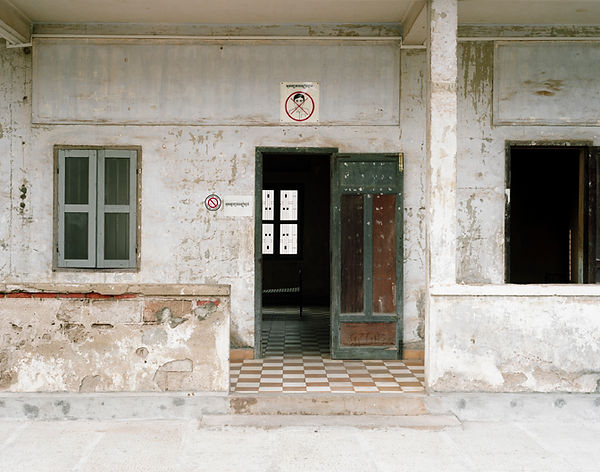 tuol sleng genocide museum batiment A phom penh cambodge