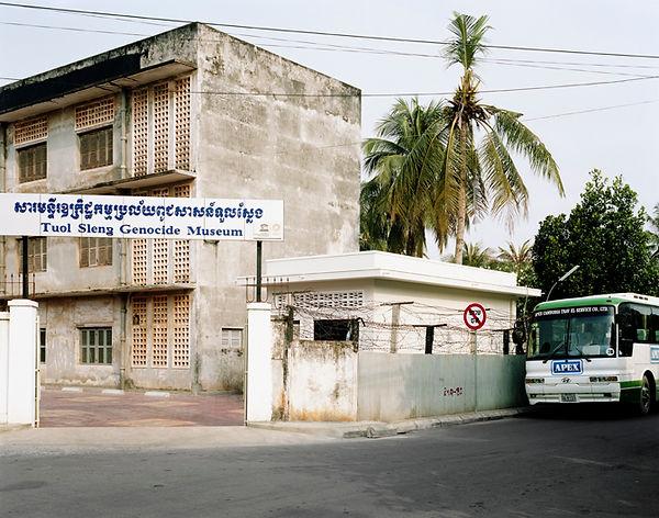tuol sleng genocide museum phnom penh cambodgeentree