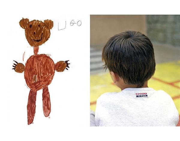 projet des clics et des classes maternelle dessin et cheveux