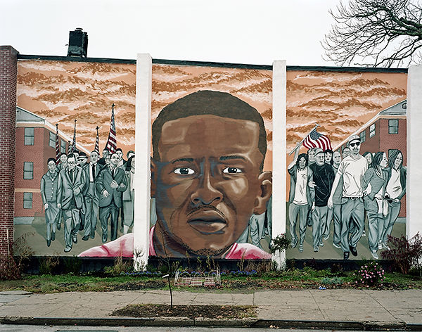 mur fresque freddie gray nether wall monroe street sandtown baltimore