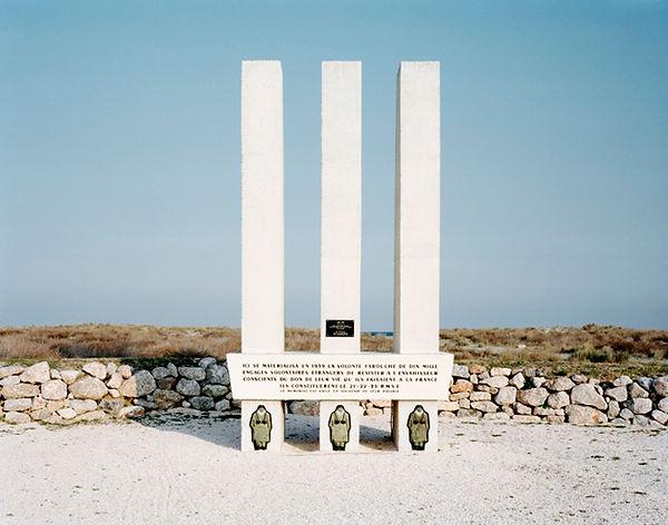 memorial 10000 volontaires 1939 morts pour la france face camp barcares barcares plage france