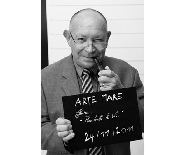 Robert Forns, bénévole de l'association Arte Mare