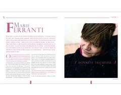 Marie Ferrante, auteure – 2013