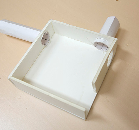 Prototype en carton plume