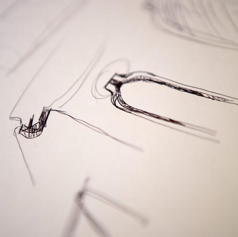 Conception, dessins préparatoires