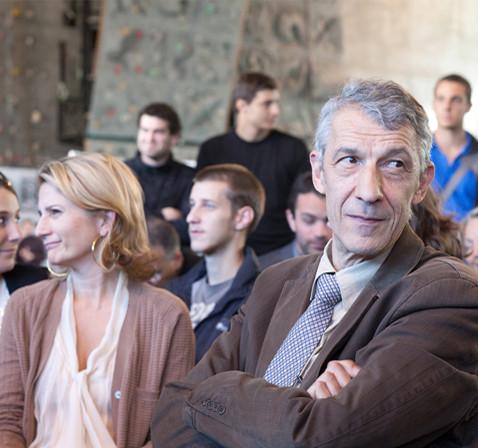 Michel Castellani, professeur d'économie